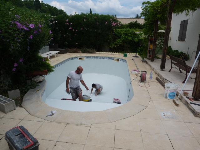 Mosaique de piscine le cres h rault carrelage pour for Piscine le cres